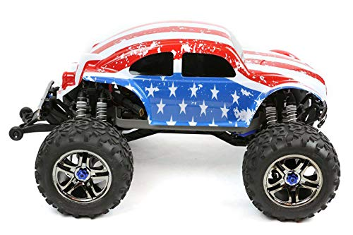 SummitLink Compatible Custom Body Flag Strip Style Replacement for 1/10 1/8 Scale RC Car or Truck (Truck not Included) B-ST-01