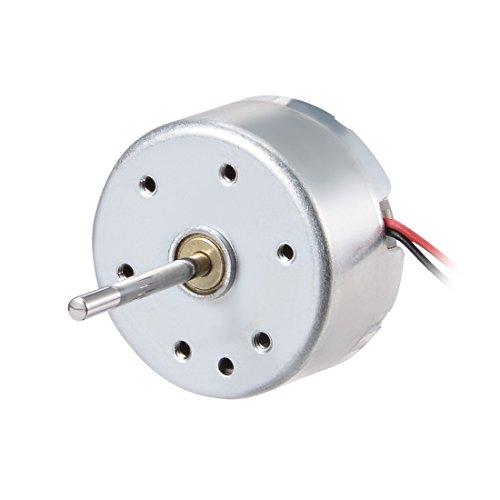 uxcell Micro Motor DC 5V 6300RPM 2 Wire High Speed Motor for DIY Hobby Toy Cars Remote Control