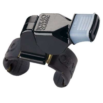 B0002UPRL0 Fox 40 Classic CMG Official Finger Grip Whistle 41MkMSso-ML