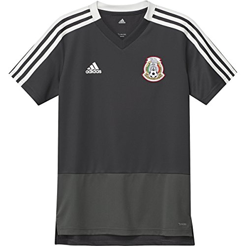 Mexico Training Jersey - adidas Mexico Men's Training Jersey World Cup 2018 (Black) (YS)