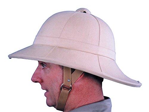 UHC Adult Men's Pith Hat Wolseley Helmet Halloween Costume Accessory -