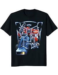 Transformer Neon Icon With Optimus Prime