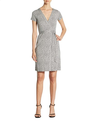 (Diane von Furstenberg NEW JULIAN TWO Banded Wrap Silk Dress Pascal)