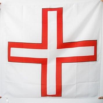 AZ FLAG Bandera de la Orden DE Santo TOMÁS DE Aquino 90x90cm para Palo - Bandera Ejercito DE Francia 90 x 90 cm: Amazon.es: Jardín