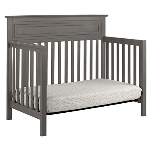 41MkNtHXsUL - DaVinci Autumn 4-in-1 Convertible Crib In Slate, Greenguard Gold Certified