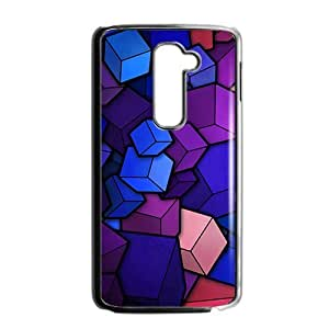 Colorful cube Phone Case for LG G2
