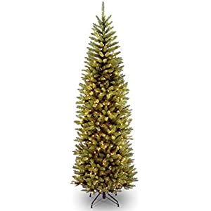 National Tree 7 Foot Kingswood Fir Pencil Tree with 250 Dual Color LED Lights with PowerConnect System, Hinged (KW7-D50-70) 16