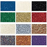 Nasco Glitter - Set of 12 - 16-oz. Jars - Arts & Crafts Materials - 9739668