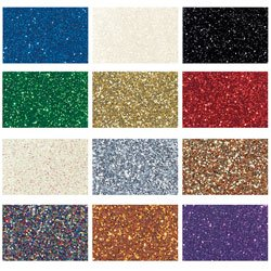 Nasco Glitter - Set of 12 - 16-oz. Jars - Arts & Crafts Materials - 9739668 by Nasco