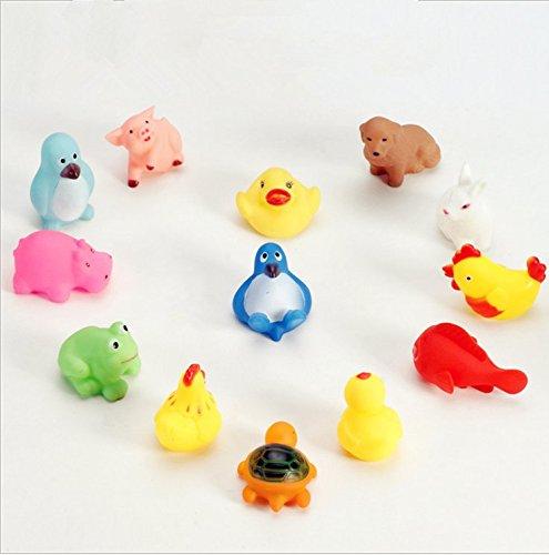 13pcs baby swimming bath toys baby toys tweak called hot sound toys