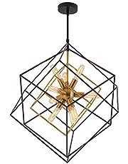 Artika Imperium Mid Century Light Fixture 9-Light Chandelier