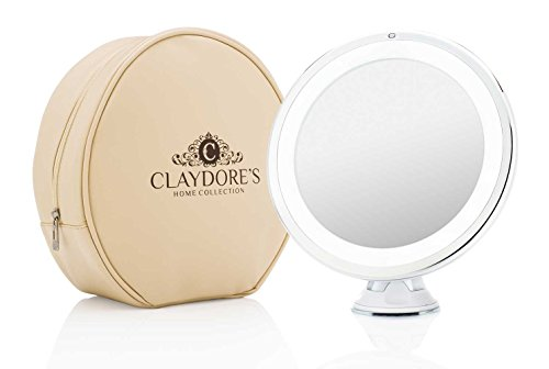 Wireless Touch Activated LED Lighted Makeup Mirror with - Makeup Travel Mirror