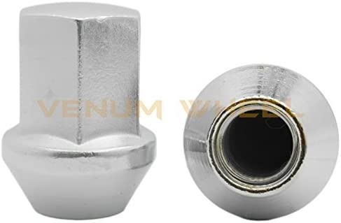 Buyer Needs to Review The spec 20pcs 1.87 Chrome 14mm X 1.50 Wheel Lug Nuts fit 1996 Chevrolet C2500 May Fit OEM Rims