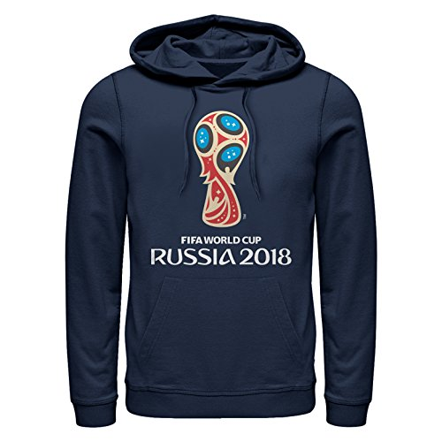 Fifth Sun FIFA World Cup Russia 2018 Men's Classic Color Symbol Navy Blue Hoodie