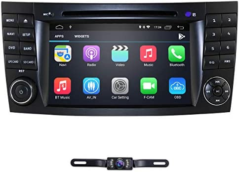 hizpo 7 Inch Android 9 0 Car Stereo Radio DVD Player GPS Can