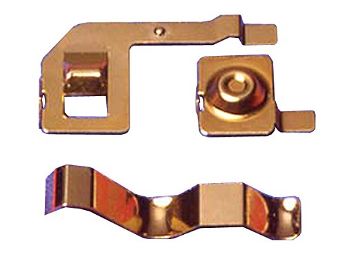 Racing Mini 4WD Zero Chassis Gold Plated Terminal Mini 4WD Grade Up Parts Series
