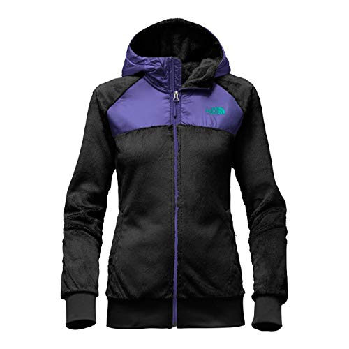 The North Face W OSO Hoodie TNF Black/Bright Navy, M (Denali Jacket Womens)