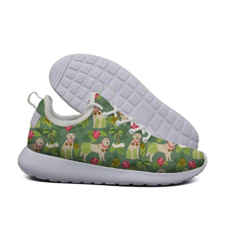 Sports Hoohle Dachshund Golden dog Hula 2 Lightweight Cross Retriever Flex Mesh Summer Womens Fashion Beach Trainer pattern Roshe Shoes BaAxdanw