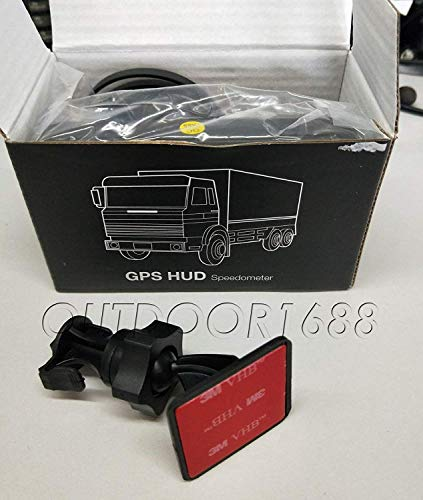 Universal GPS Speedometer HUD MPH and KM/h Plug & Play