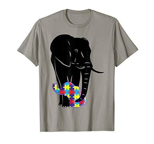 Autism Elephant Tee Shirt, Autism Awareness T-Shirt