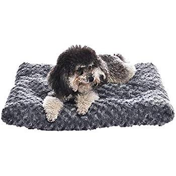 AmazonBasics Pet Dog Bed Pad - 23 x 18 x 2.5 Inch, Grey Swirl