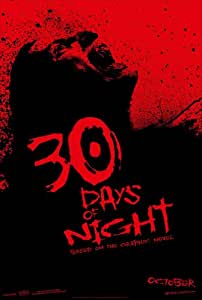 30 DAYS OF NIGHT MOVIE POSTER 2 Sided ORIGINAL Advance 27x40