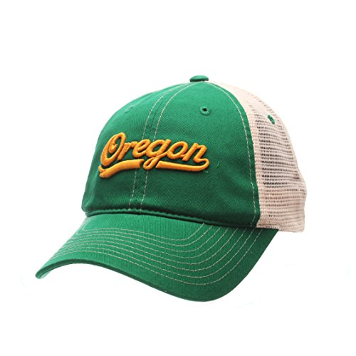 ZHATS NCAA Oregon Ducks Mens Side Out Relaxed Cap, Adjustable, Multicolor