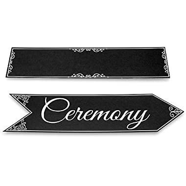 David Tutera Chalkboard Signs in Assorted Arrow and Rectang