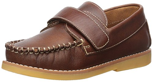 Elephantito Boys' Nick K Boating Shoe, Brown, 13 M US Little Kid by Elephantito (Image #1)