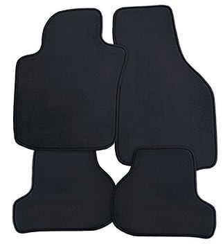Velours beige Fußmatten passend für MERCEDES S-Klasse W221 Limo