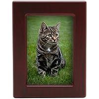 Near & Dear Pet Memorials MDF Pet Photo Cremation Urn