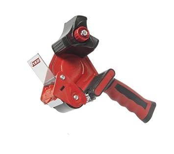 Dispensador precinto metalico maquina precintar pistola mango ergonomico embalar: Amazon.es: Oficina y papelería