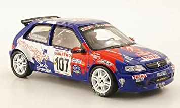 Citroen sax Kit Car, No.107, Rally Sanremo , 1999, Modelo de Auto ...