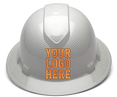 Custom Hard Hats - Personalized Logo - Pyramex Ridgeline Full Brim Cap 4 Point Ratchet Suspension