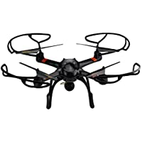 SOWOFA 23.5inch 6 Axis Big Drone HD 2MP Camera RC Quadcopter Drone with LED Light & One Key Back & Headless,Black