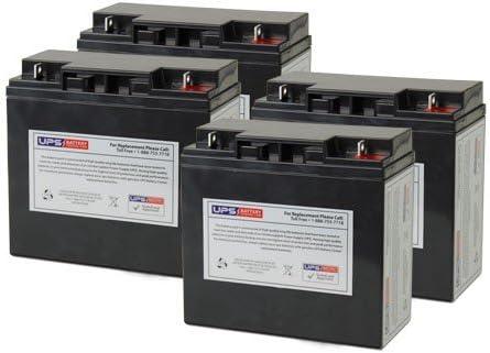 Minuteman BPX48V17 Replacement Battery Set