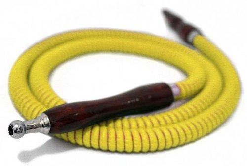 SALE Yellow 57'' HOSE Hookah Shisha Nargila for water smoking bar pipe NEW by Hookah4sale Hoses