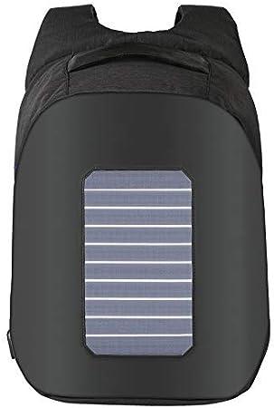 FARAZ User-Friendly Anti-Theft Waterproof Solar Backpack