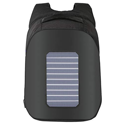 FARAZ Solar Backpack Waterproof and Anti-Theft, perfect for carrying books or laptop to work, school...