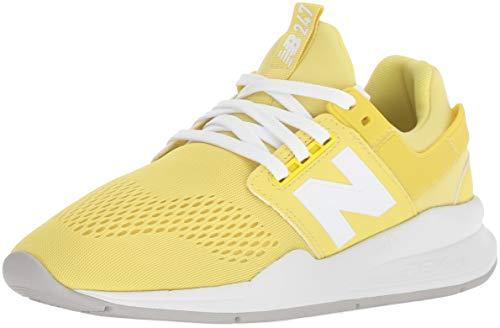 Femme white Baskets Ug lemonade New Jaune 247v2 Balance ZAqxwTt