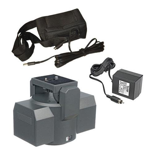 Bescor MP-1B Motorized Pan Head Kit, Includes MP-101 Motorized Pan Head with Remote Control, 90-645 Battery and ATM-X Automatic Charger by Bescor