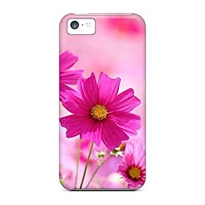 Fashionable Style Case Cover Skin For Iphone 5c- Flowers