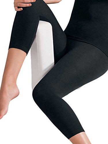 Pompadour Damen Leggings 3/4 lang Intime Schwarz H7xyTP