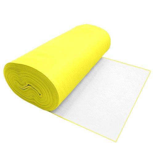 Viscose Felt Light Yellow 36 Inches Wide X 70 Yard Long