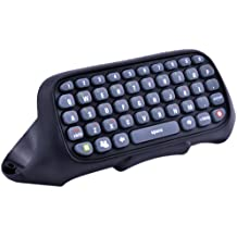 Online Gaming Gamepad Keyboard, Joso Full Qwerty Text Chat Messaging Keypad Chatpad for Microsoft Xbox 360 Controller