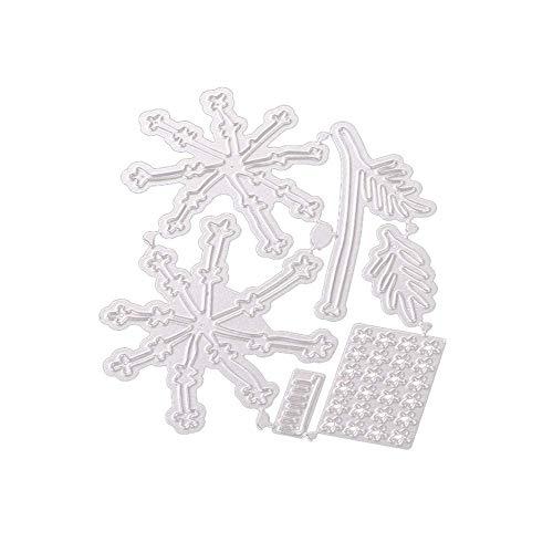 Uqiangy Cutting Dies Scrapbooking Metal Die Stencil Paper Card Craft for Sizzix Big Shot/Other Machines(G,9.1X 10.6CM)