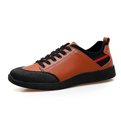ZXCV Zapatos al aire libre Tendencia deportiva zapatos zapatos deportivos zapatos antideslizantes al aire libre para hombres de ocio Marrón