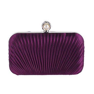 de Purple femme Perles sac Ruffles soirée Mode zxfqwxYt