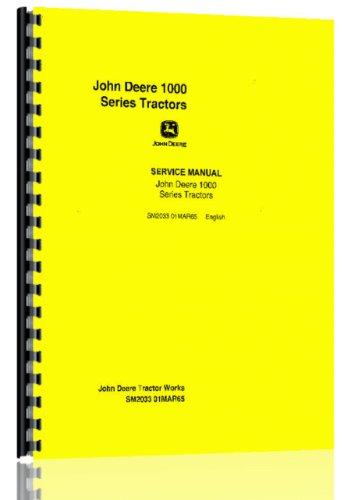 John Deere Tractor Data - 6