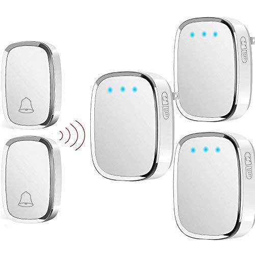 Door Intercom Security & Protection Wireless Mini Size Door Bell Outdoor Push Button Ip55 Waterproof Doorbell Elegant Design Sensitive Transmission Superior Performance